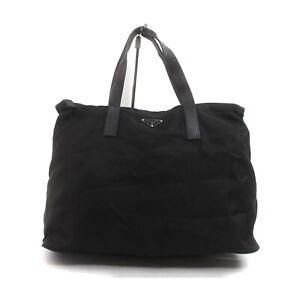 Prada Hand Bag  Black Nylon 2401476