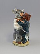 9941900 porcelaine CRUCHE DE FIGURINE chope collection TAUREAU ET OURS A Ernst
