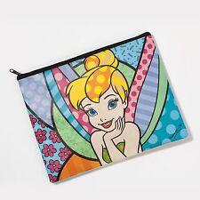 Romero Britto Tinker Bell Accessory Bag Purse Disney