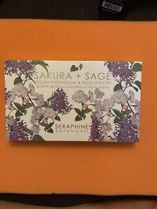 Seraphine Botanicals Sakura + Sage Vegan Eyeshadow & Blush Palette SEALED