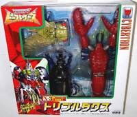 Japan Rare TAKARA Beast Wars Second X-3 Tripledacus Action Figures Set MISB