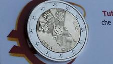 2 euro 2018 fdc ESTONIA 100 Stati Baltici Estonie Estland Eesti Эстония