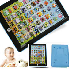 Kid Educational Toy Tablet Learning English Pad Laptop Computer Child Game Gift