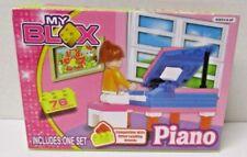 "My Blox ""Piano"" Building Blocks Play Set Nib Age 6+"
