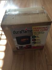 NEW Duraflame Cube Electric Stove Heater Fireplace DFS-220 BLACK
