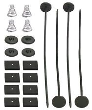 SINGLE ELECTRIC RADIATOR FAN TIE STRAP MOUNTING KIT PLASTIC ZIP TIES STRAPS PADS