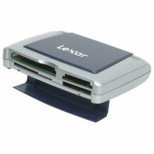 Lexar USB 2.0 SD SDHC SDXC CF MS MSPD XD Multi - Card Reader RW022 -O