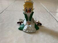 Anime Figurine Girl Maid Outfit Green