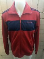 Adidas Jacket Size L Red / Blue Men's TRACK TOP