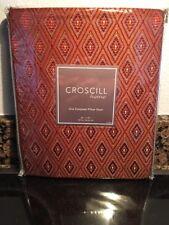 New Croscill European Pillow Sham - SCARLET