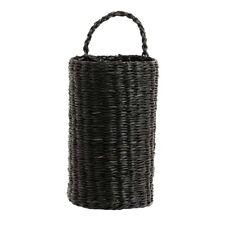 Nordal Korb Seegras mit Henkel schwarz