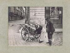 ZIGOMAR Léon SAZIE Roman Z Mur Affiche Gino STARACE Lait Guerre Photo 1916