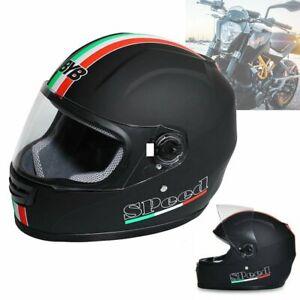 Casque De Moto Visage Complet Casco Moto Scooter Motard Jet Scooter Helmet