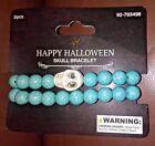 Halloween Skull and Beads Bracelet