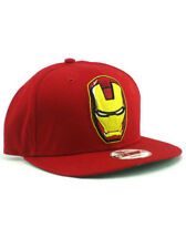 New Era Iron Man 2 Movie 9fifty Snapback Hat Adjustable Marvel Comics Red NWT