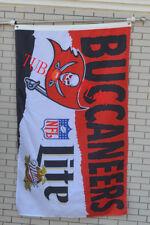 Tampa Bay Buccaneers Large Indoor Outdoor Banner Flag