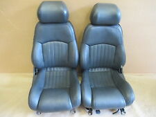 96 Trans Am Graphite Leather Seat Seats Set 0706-30