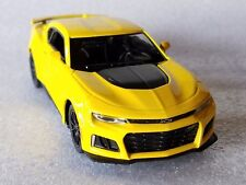 "Kinsmart 5"" 2017 Chevrolet Camaro ZL1 Diecast Model Toy Car 1:38 Chevy-YELLOW"