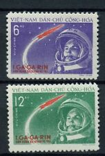 North Vietnam 1961 SG#N170-1, 1st Manned Space Flight MNH Set #A60311