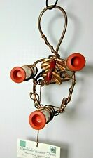 Ozarklake Copper Bright Red Noodle Beads Accent 3 Hummer Stations 3 extra tubes
