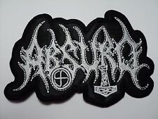 absurd shaped  EMBROIDERED PATCH