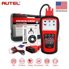 Autel MD802 OBD2 Diagnostic Tool Code Reader Scanner + DS Model ABS Airbag EPB