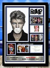 More details for 519) david bowie signed photograph framed unframed reprint great gift **********