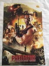 PREDATOR 11X17 Original Promo Movie Poster SDCC 2017 MINT Arnold Schwarzenegger