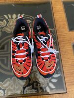 Nike Air Max 98 GS Habanero Red/White/Gold BV4872-601 Size 7Y / 8.5 Womens