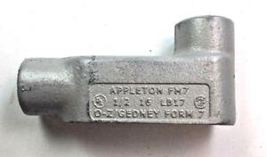 """Appleton LB17 1/2"""" Conduit Outlet Box Body"""