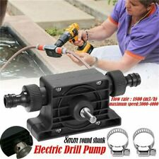 Hand Electric Drill Drive Self Priming Pump Water Oil Fluid Transfer Small Pump