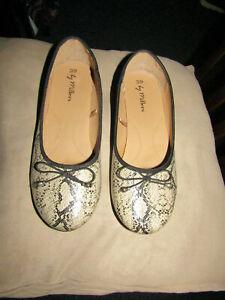 Millers Women's Slip-On Sandals. Snake-Skin Look Material. Size - 39.