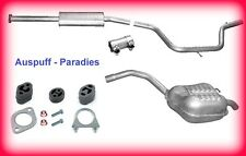 Abgasanlage Auspuff Schalldämpfer Ford Mondeo IV 1.6 Ti (81KW & 92KW) BA7  + Kit