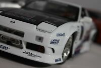 1/18 NISSAN SILVIA S13 240SX 180SX OPTION D DRIFT Die-cast Jada Toys Custom Rare