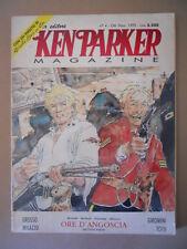 KEN PARKER MAGAZINE n°4 1992 con inedito Giuli Bai & Co  [G419B] BUONO