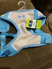 """New listing New! Top Paw Comfort Harness - Large - Girth 28""""-34"""" Blue/Grey (7861)"""