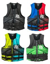 Fly Racing Mens Neoprene Life Jacket Vest PFD All Colors XS-3XL