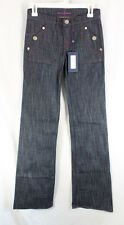 Rock Republic Jeans Gloss Denim Womens Size 0, 25 Trouser Low Rise Sample 2008