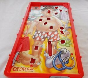 Operation Silly Skill Game Board Replacement 2008 Hasbro