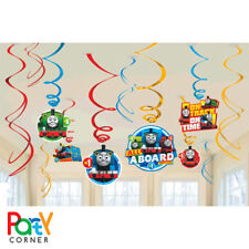 THOMAS THE TANK ENGINE PARTY SUPPLIES HANGING PARTY DECORATION FREE POSTAGE