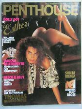Penthouse 3/1989, Sonja Braga, Sabrina Salerno, Brittany Morgan, Udo Lindenberg