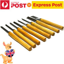 New Wood Turning Lathe Woodturning Chisels Tools Set Carving Working Hand Chisel