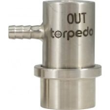 Stainless Steel Ball Lock Beverage Out Keg Coupler Barbed Connectors Beer Wine