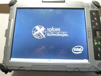 Xplore iX104C4 Rugged Tablet PC Core Duo 1GB 0HD Power Tested ONLY AS-IS
