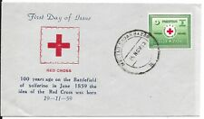 PAKISTAN 1959 RED CROSS COVER