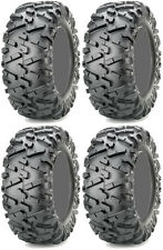 Four 4 Maxxis Bighorn 2.0 ATV Tires Set 2 Front 24x8-12 & 2 Rear 24x10-11