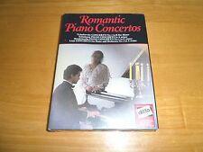 Romantic Piano Concertos Tchaikovsky Schumann Mendlessohn Liszt 2 Cassette pack