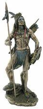 Sioux Indian Warrior Statue Figurine Sculpture - HOME DECOR