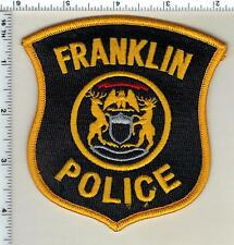 Franklin Police (Michigan)  Shoulder Patch  - new from 1992