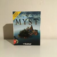 MYST ~ Big Box CD-ROM PC Game ~ Complete